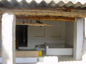 Albunuelas Casa Cueva Kitchen
